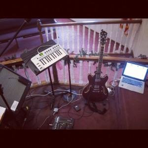 guitar rig at Bethesda